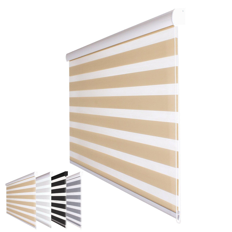 Gut Fensterdecor Duo-Rollo Doppelrollo 160 breit 180 lang Sichtschutz  SI94